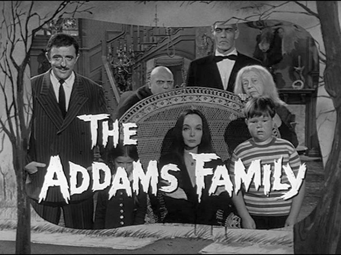 The Addams Family - I identified with these folks