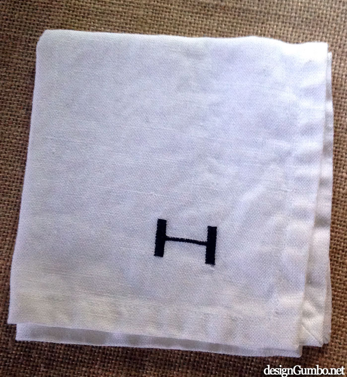 My Pre-married Monogram Cocktail Napkin